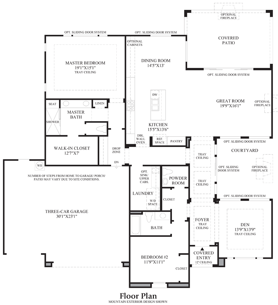 Regency at damonte ranch woodridge collection the for Elite house plans