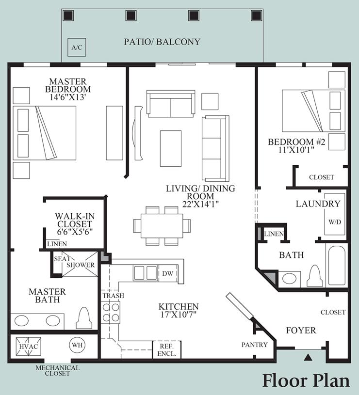 Taft - Floor Plan