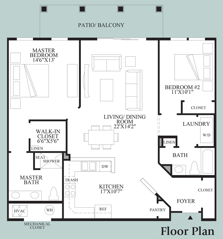 Taft - Floor Plan