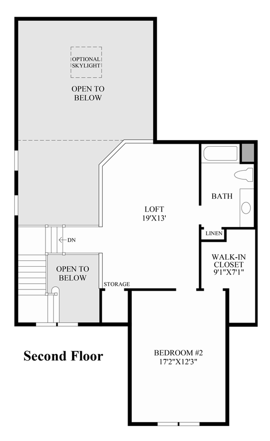 Ridgewood at middlebury the tamarack home design for Floor plans middlebury