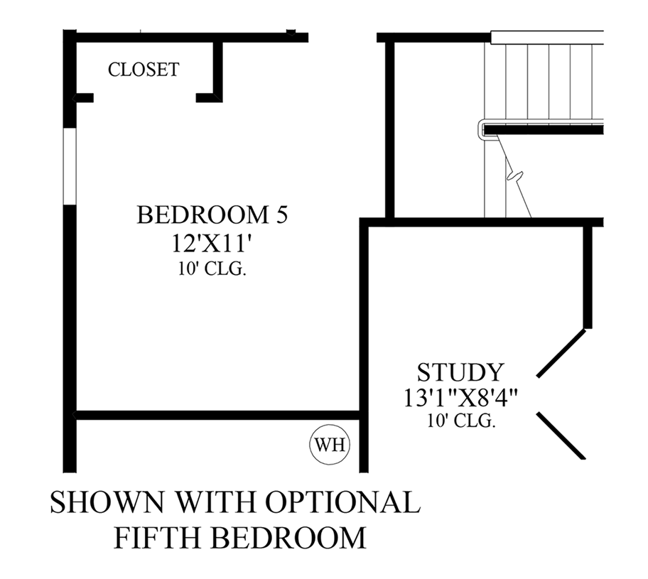 Julington Lakes - Optional 5th Bedroom