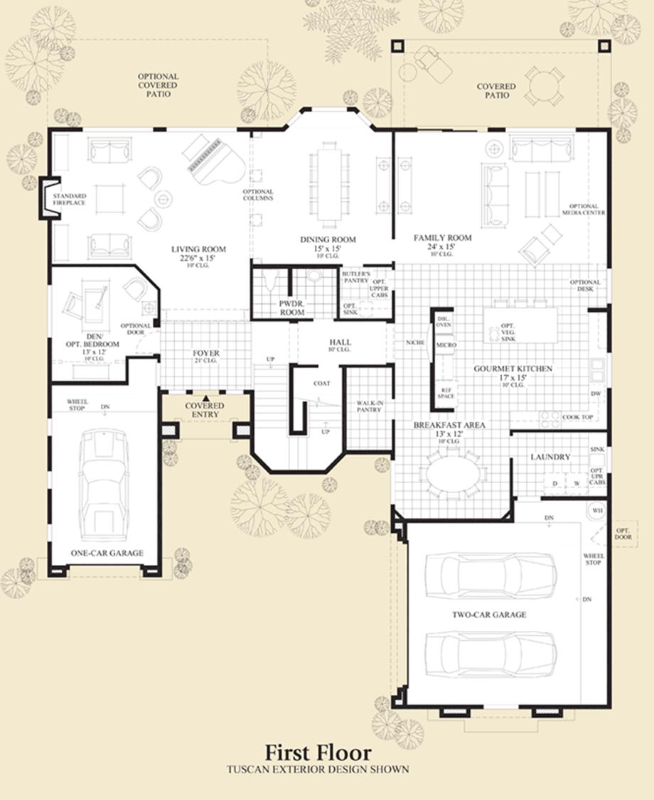 Terraza Floor Plan