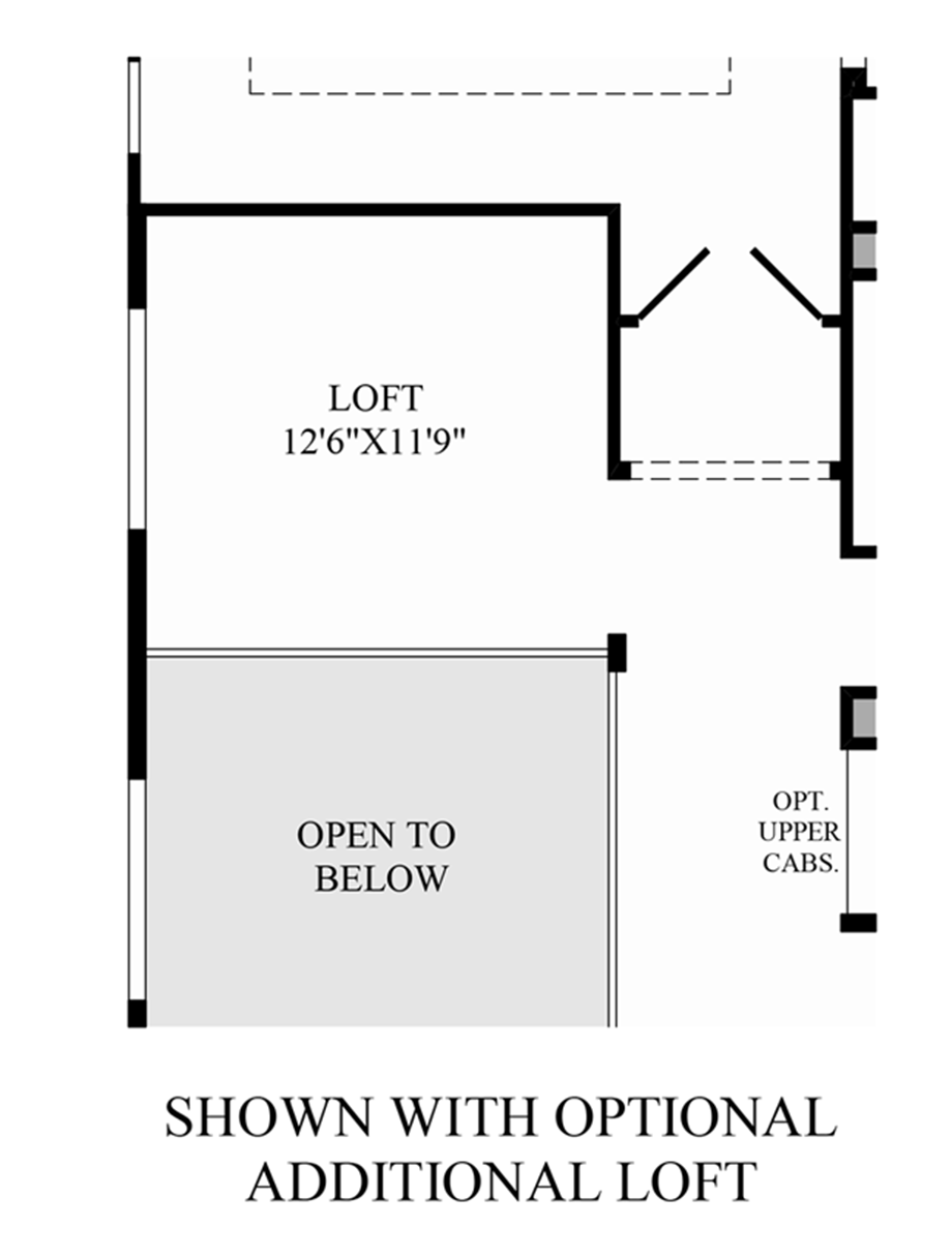 Optional Additional Loft Floor Plan
