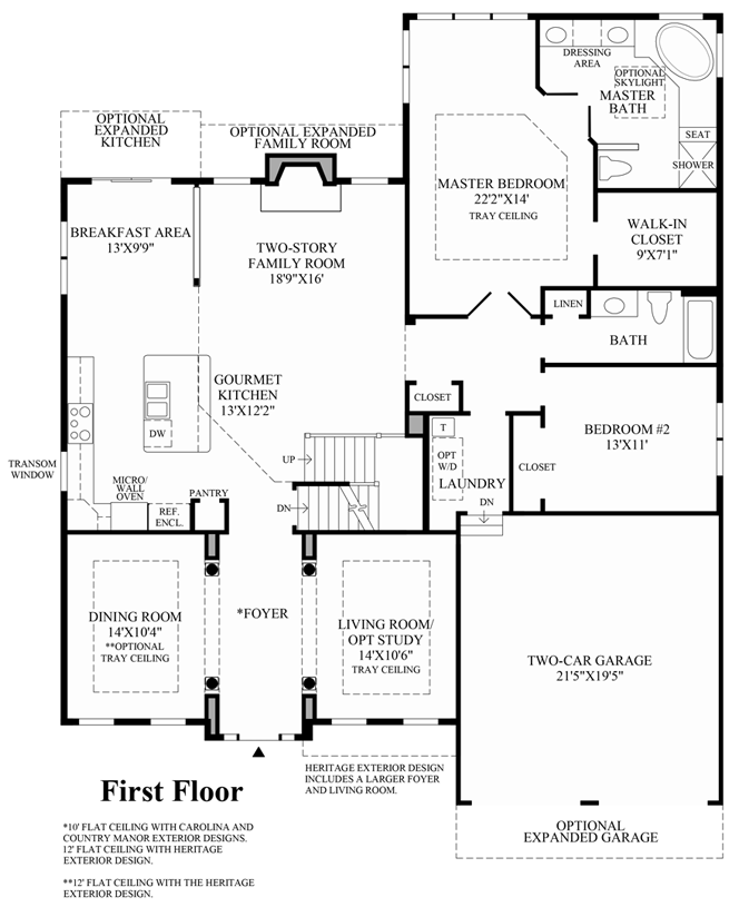 Dominion Homes Floor Plans Marysville Ohio
