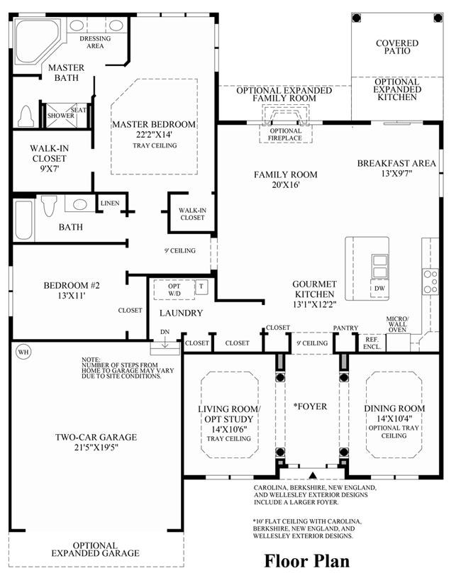 Tradition - Floor Plan