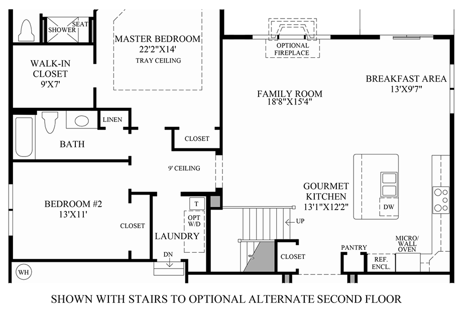 Tradition Floor Plan