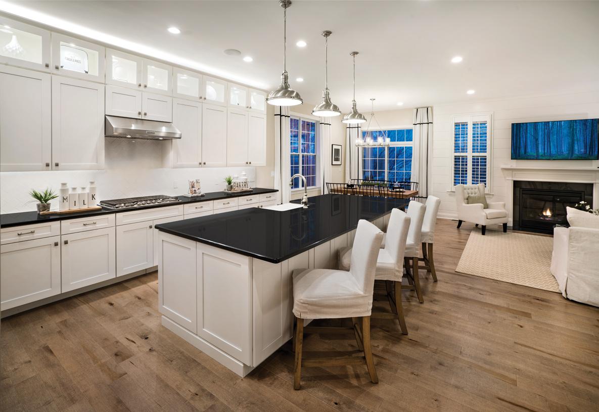 Open floor plan - perfect for entertaining