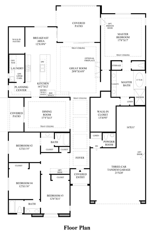 Room Floor Plan Designer Free: Presidio At Damonte Ranch