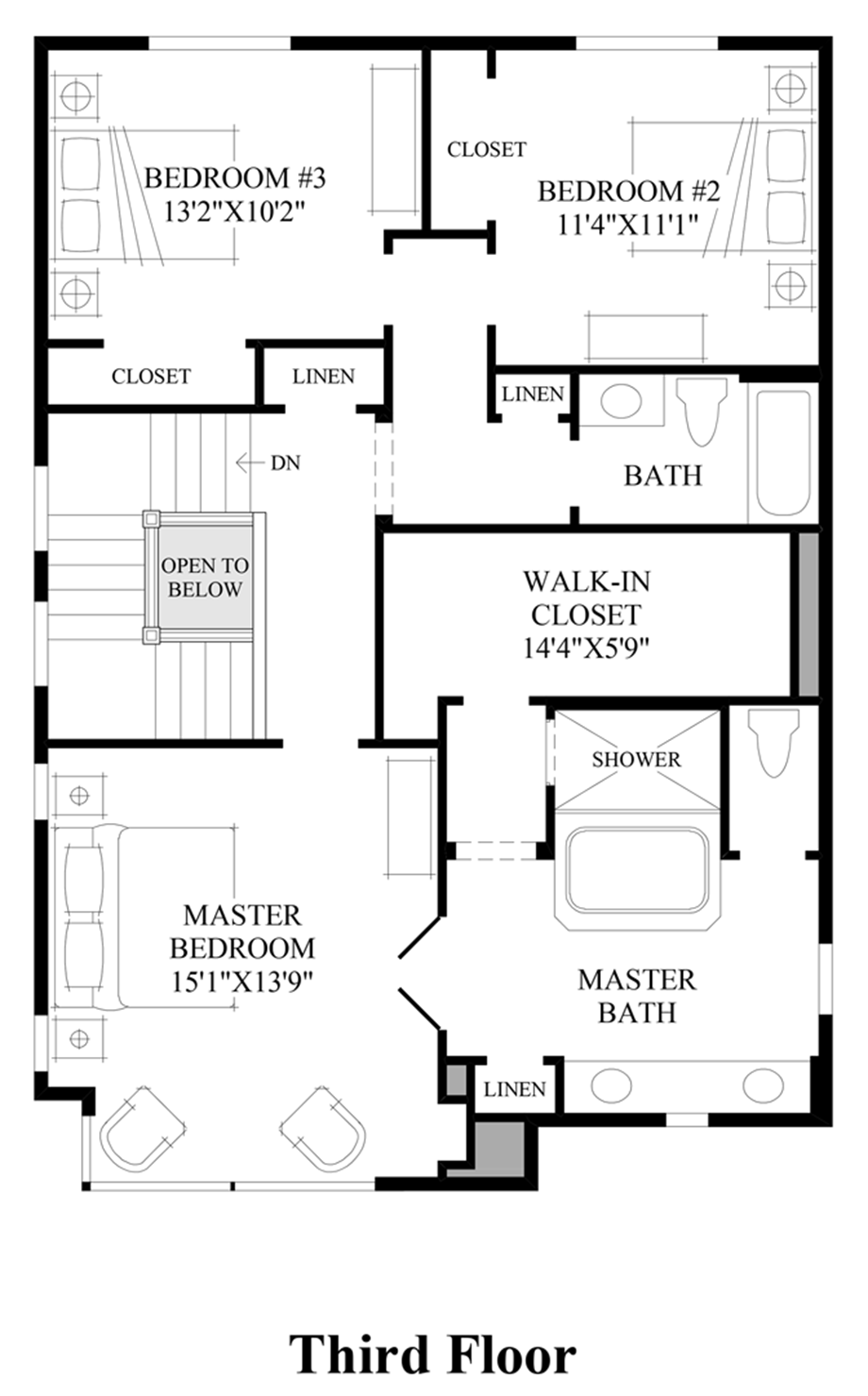 Rosehaven at bradford place the signature the twain Place builders floor plans
