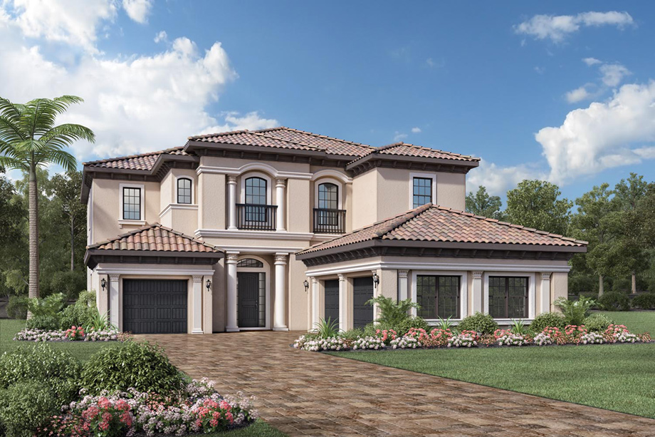 Parkland golf and country club by toll brothers monogram for Florida country homes