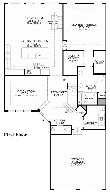 Regency Homes Floor Plans Iowa House Design Plans