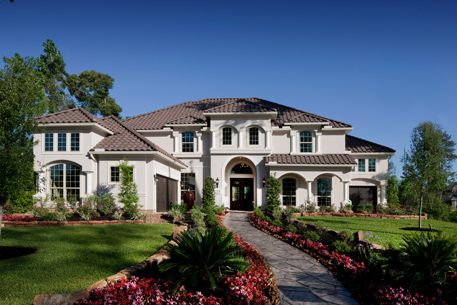 New luxury homes for sale in the woodlands tx the for Model houses in new york