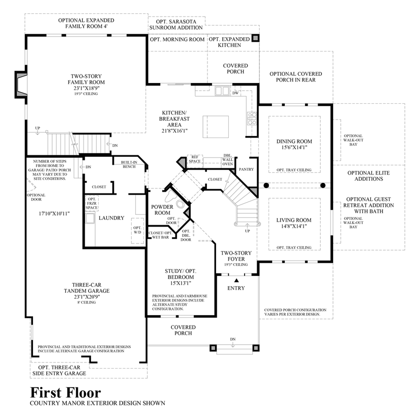 Valmont - 1st Floor
