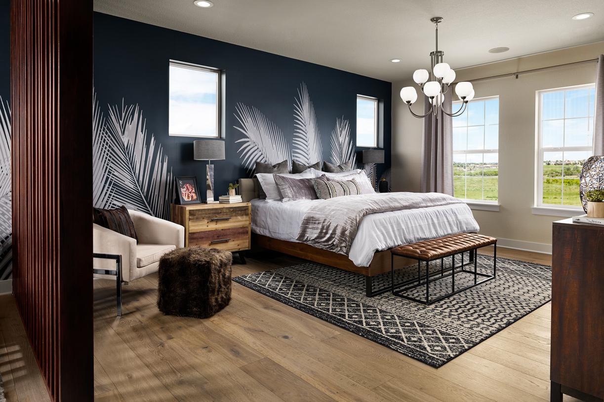 Valmont primary bedroom suite