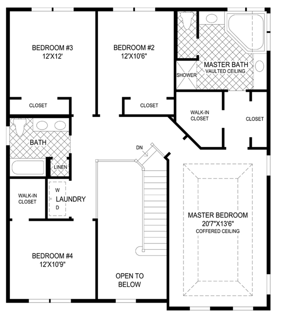 Toll brothers page not found for 2nd story floor plans