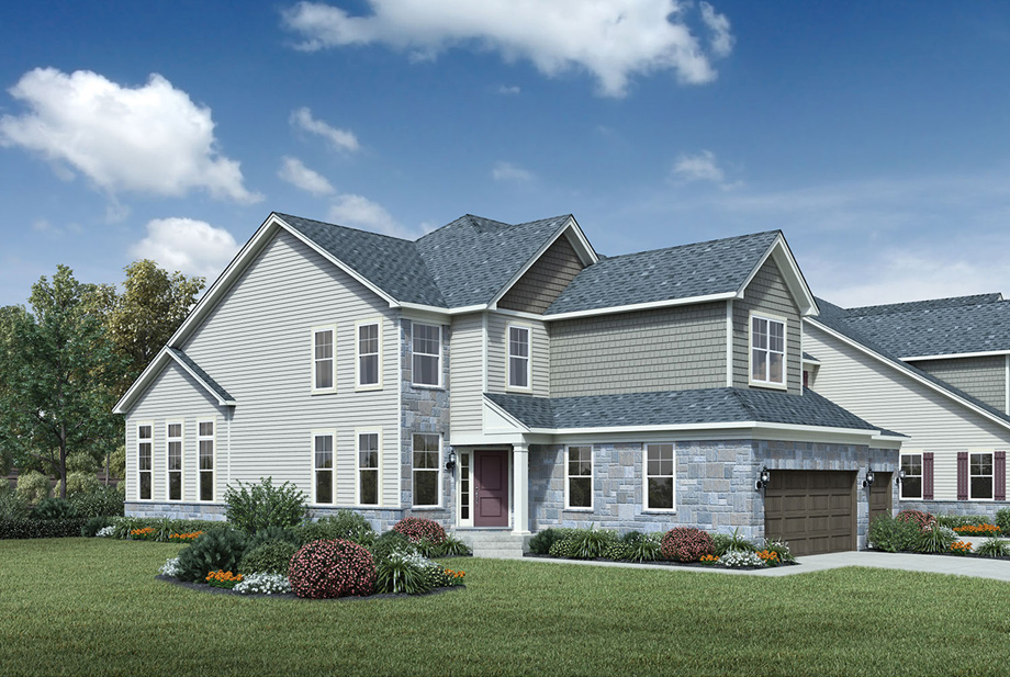 North Oaks Of Ann Arbor The Villa Collection The Vanleer Home Design