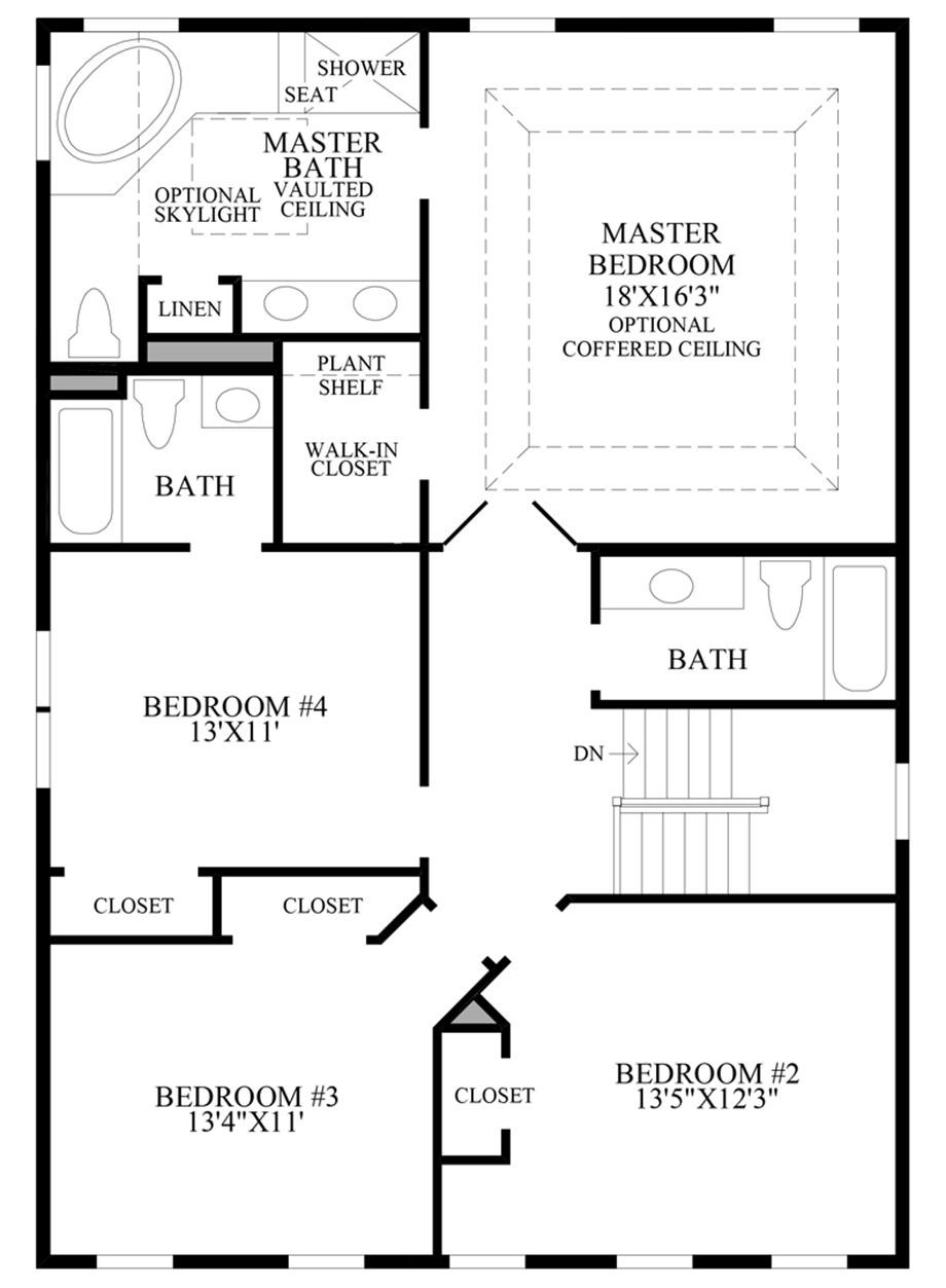 Additional Bath Floor Plan