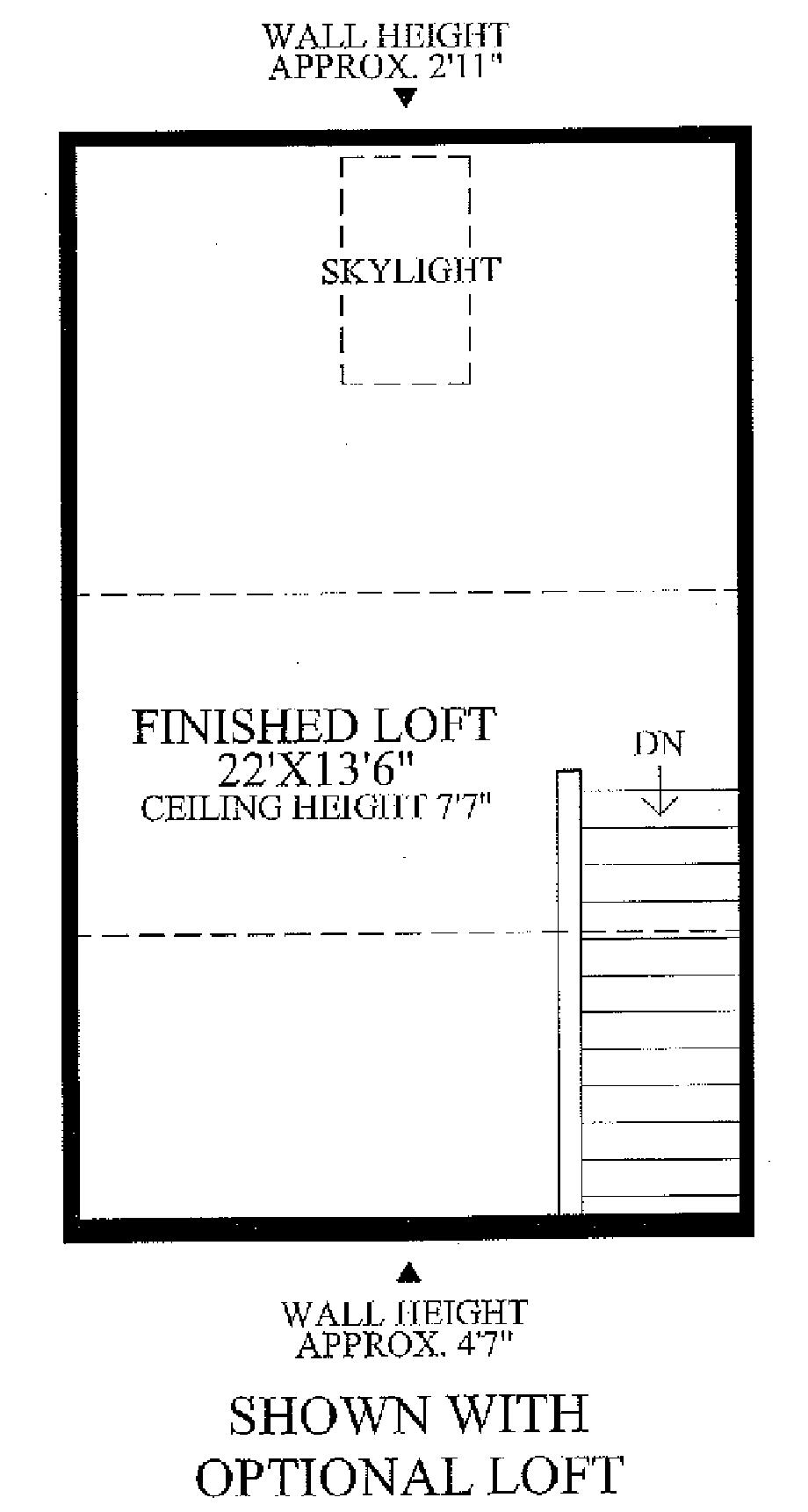 3rd Floor Loft Floor Plan
