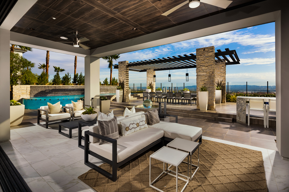Westcliffe at Porter Ranch - Cascades Collection | The ... on Exclusive Outdoor Living id=19650