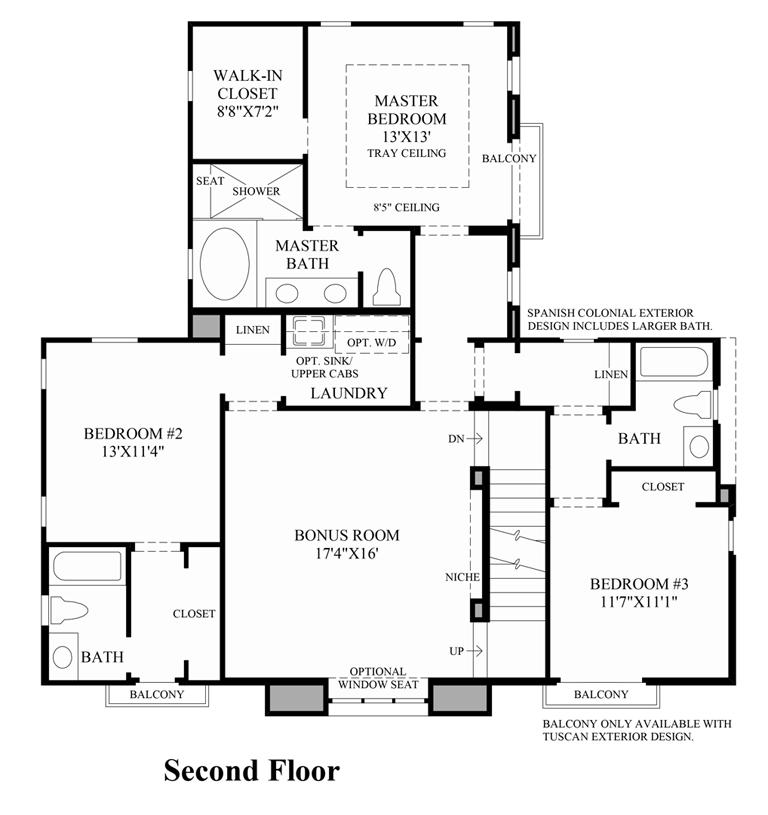 Floor plans for Elite house plans