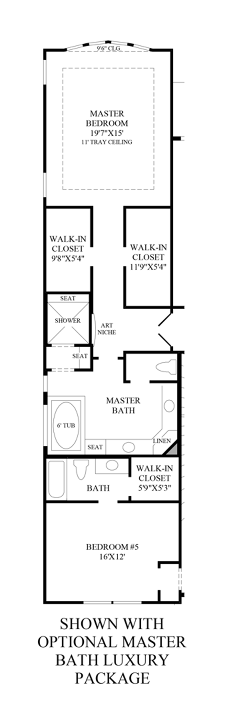 Cane island the venetian home design for Luxury master bath floor plans
