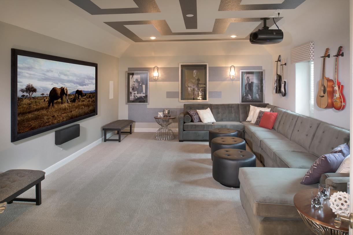 Optional media room