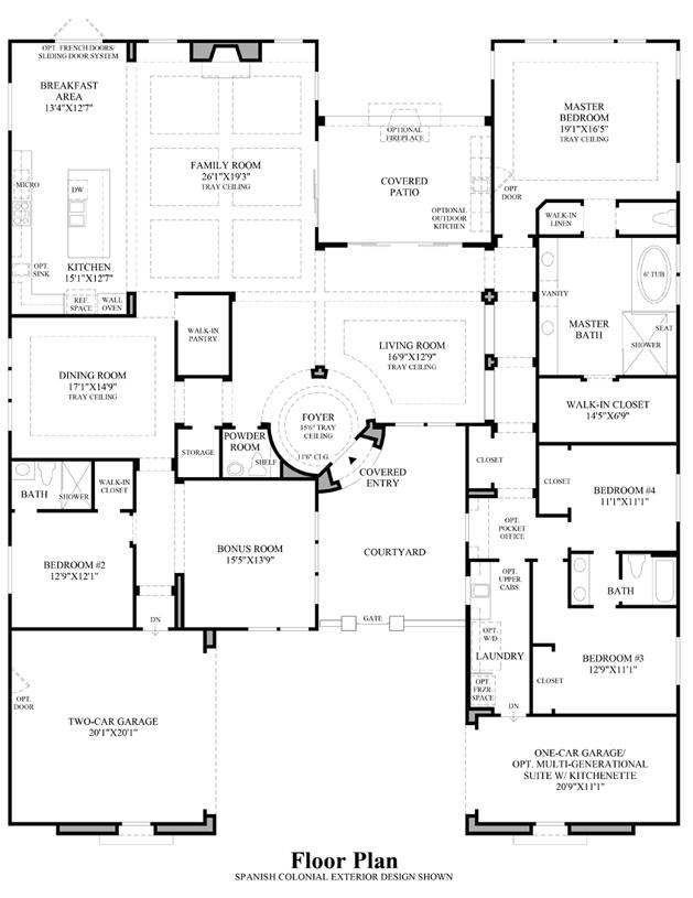 Los altos the taranto nv home design for Mission santa barbara floor plan