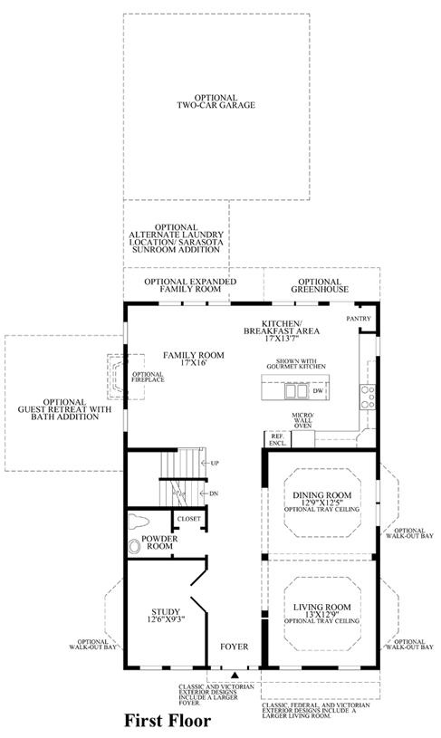Vicksburg - 1st Floor