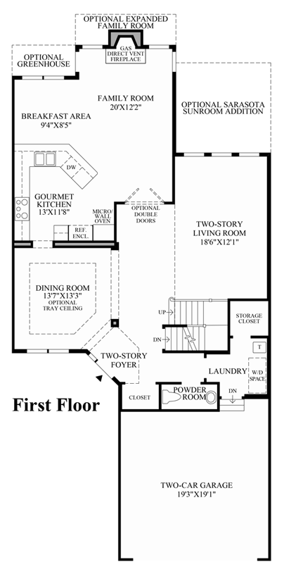 Continental Homes Cunningham Floor Plan