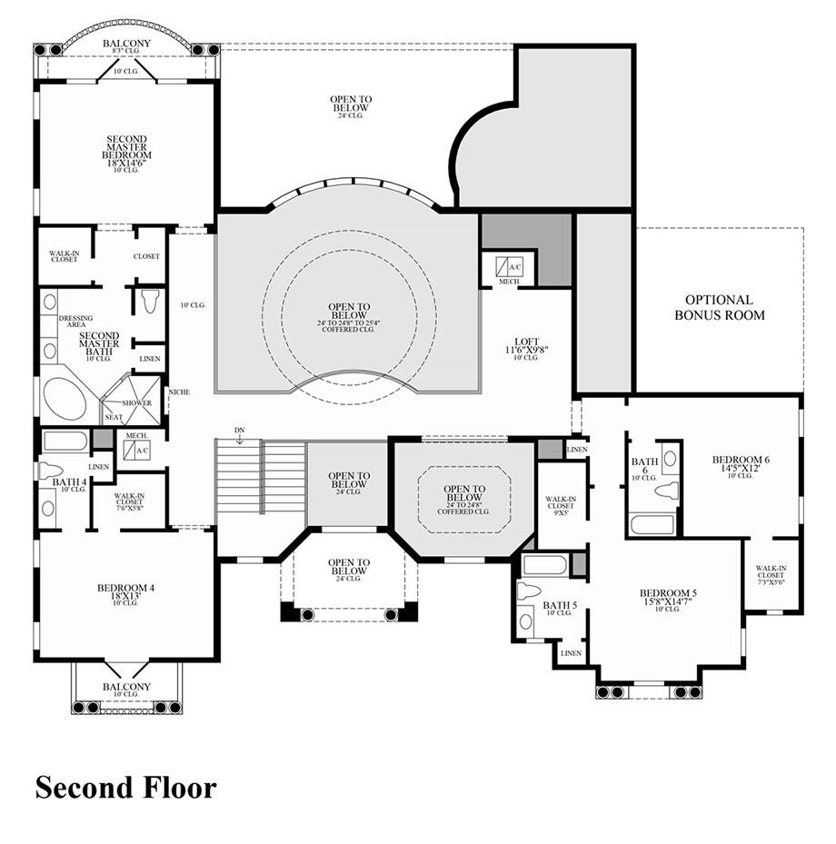 Villa Lago Floor Plan