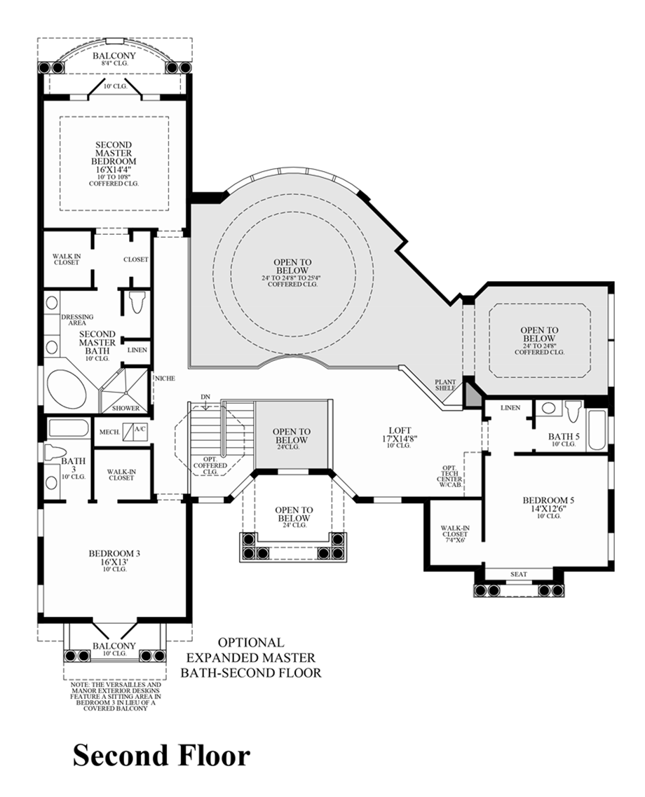 Casabella at windermere the villa milano home design for Villa floor plans