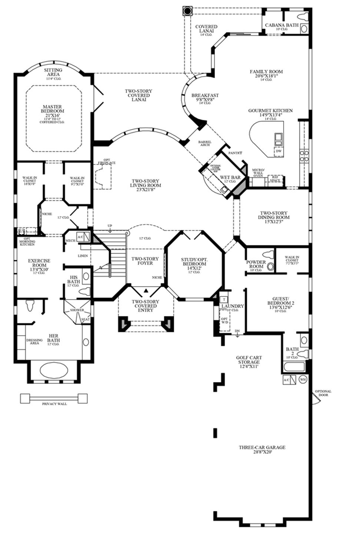 Castlerock House Plan Get House Design Ideas