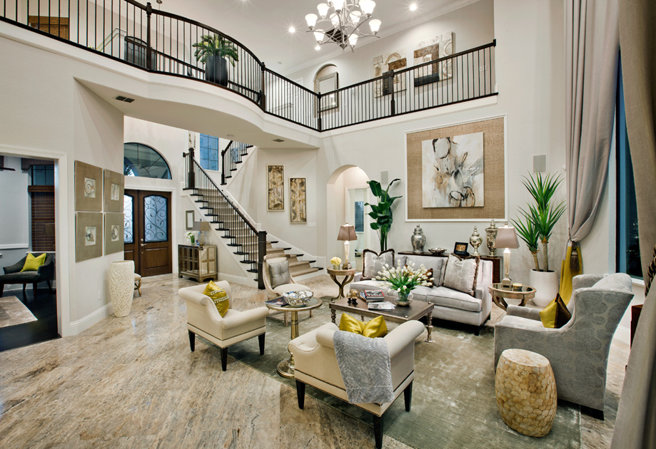 Model Homes Decorated Ideas