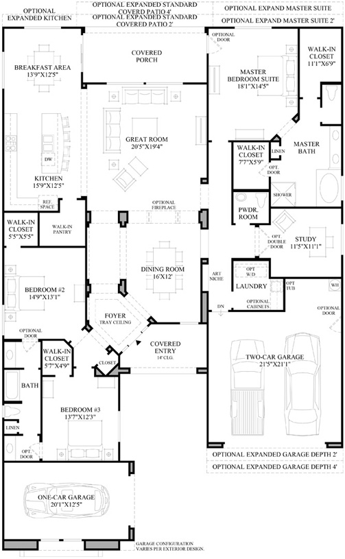 Villaga - Floor Plan