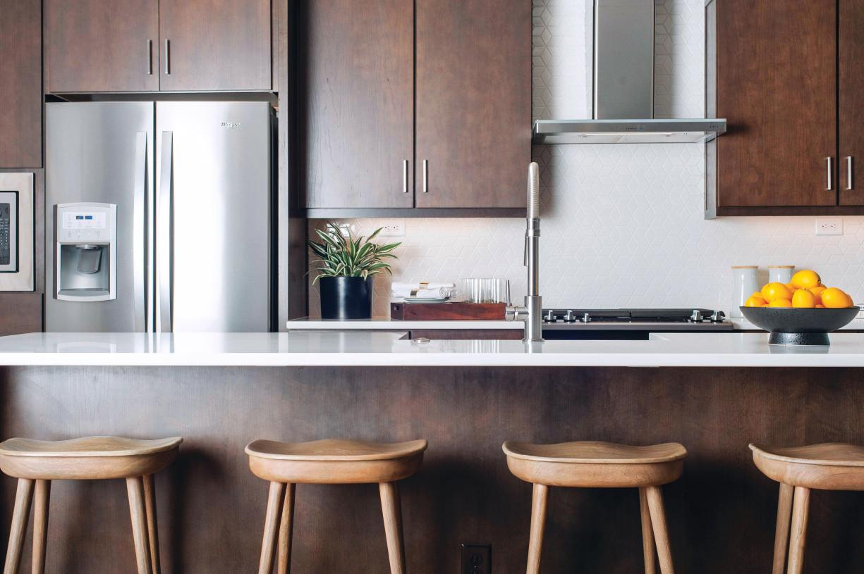 Personalize your kitchen with a design and features that suit your style