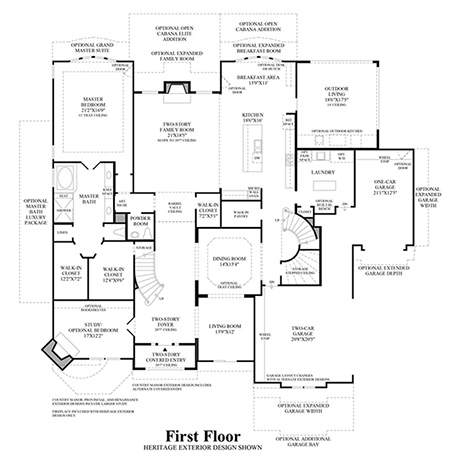 vinton_1_450 Home Plans Dual Master Bedroom on master bathroom floor plans, with two master suites home plans, dual view house plans, master suite floor plans,