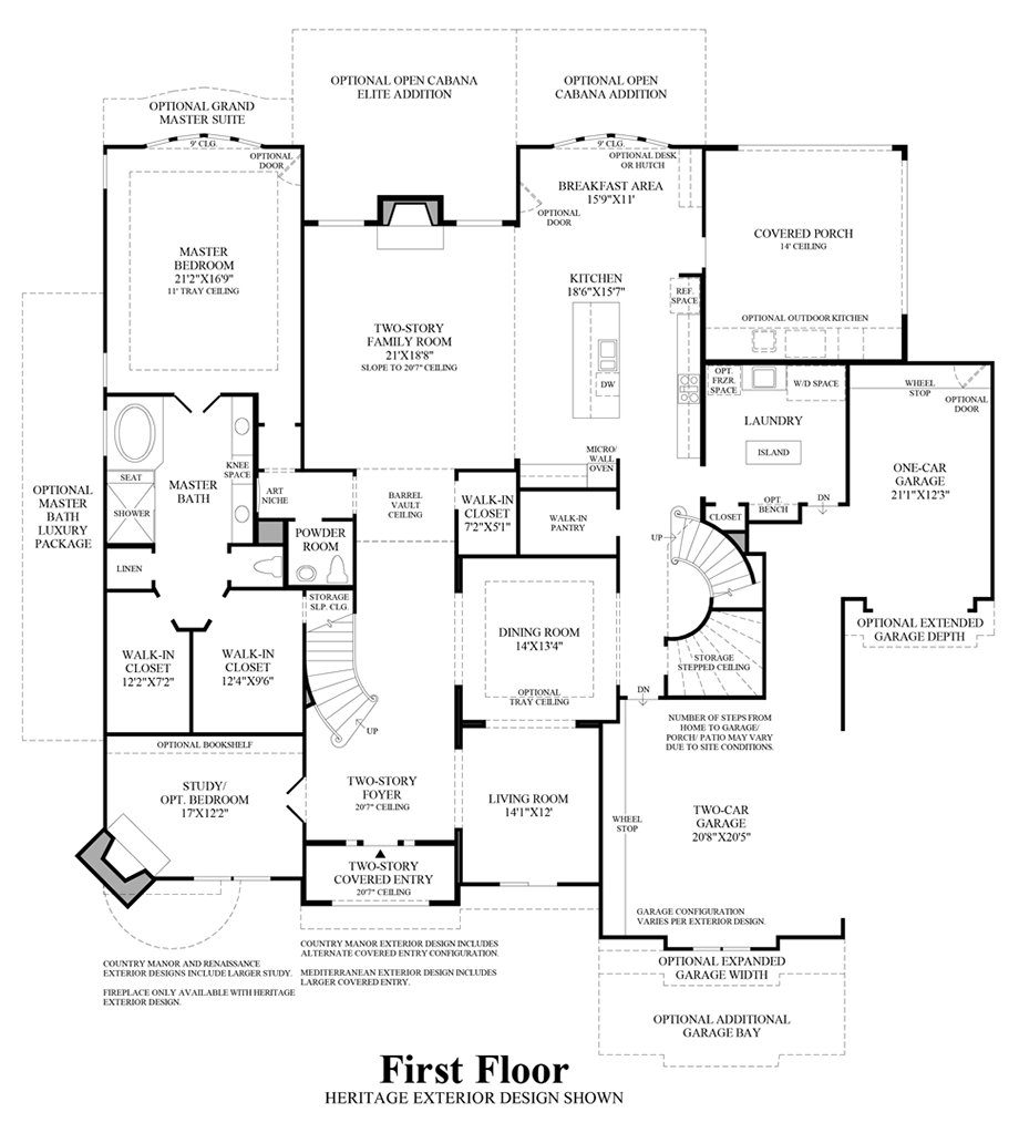 First Texas Homes Renaissance Floor Plan