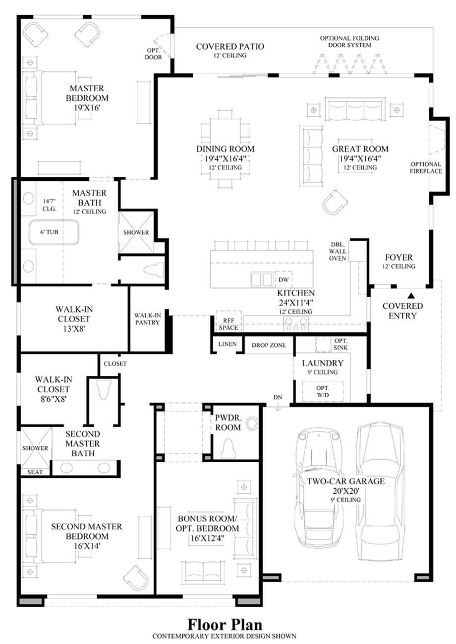 floor plan for a house toll brothers at escena the visage home design 7564