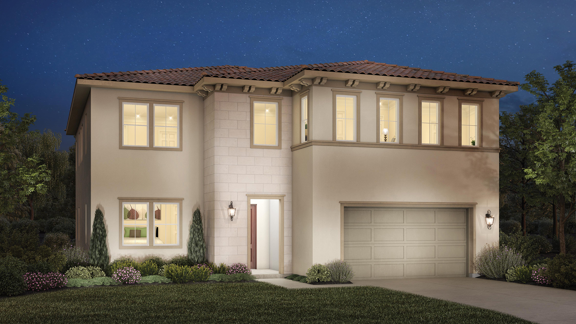 Avalon at plum canyon quick delivery home vittoria for Italianate homes for sale