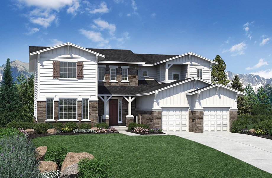 The highlands at parker the chatfield home design for Parker house designs