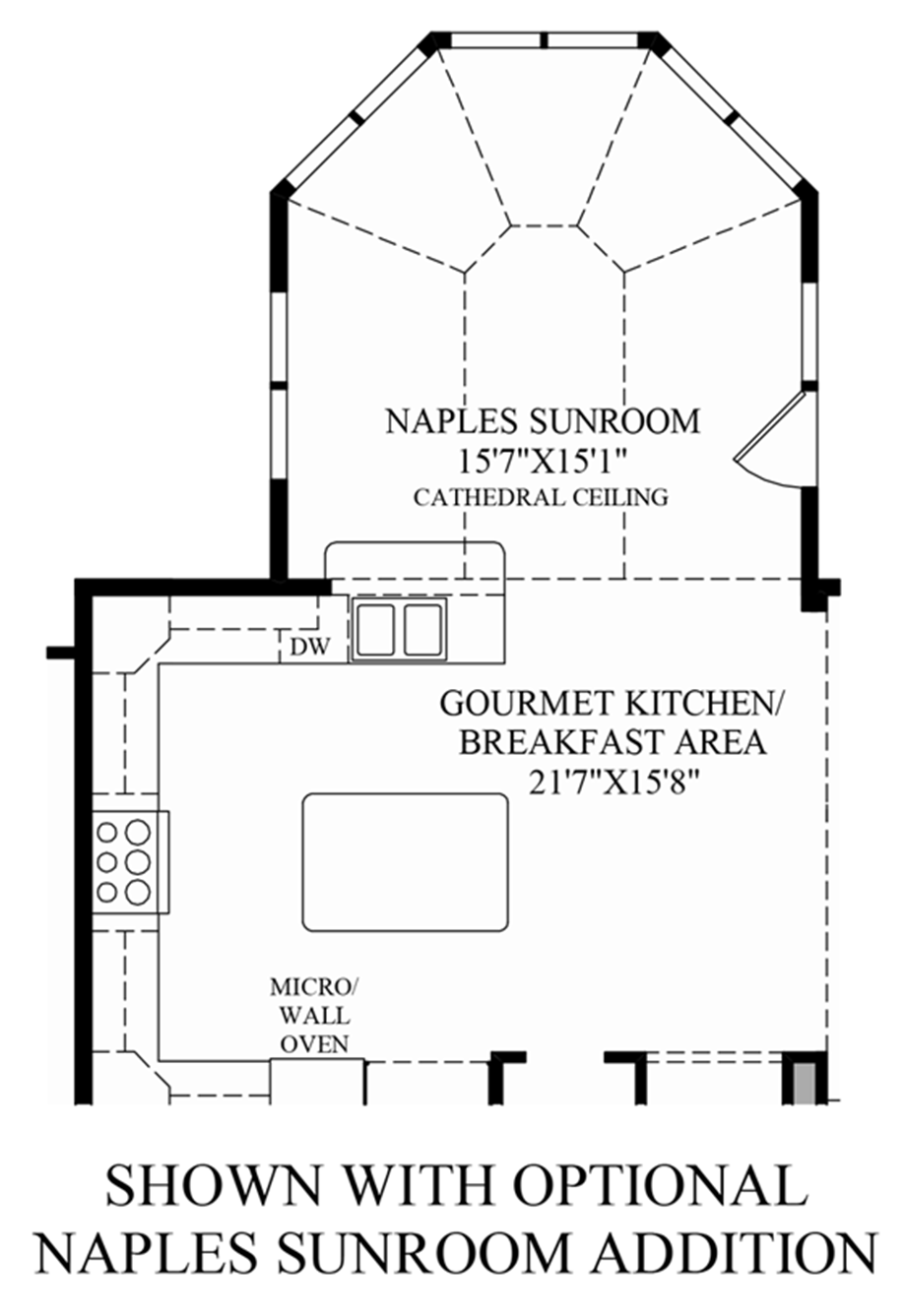 Sunroom floor plans gurus floor for House plans with sunroom