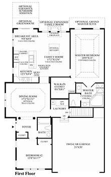 Walnut - Floor Plan