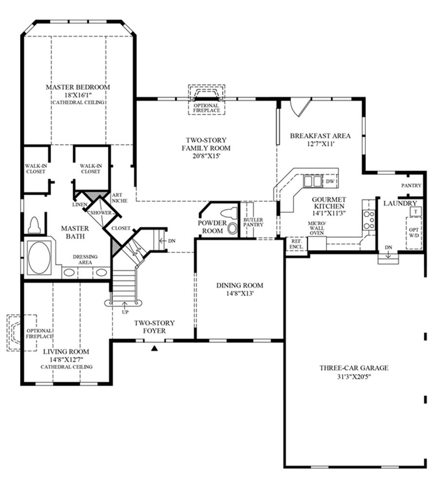 Waterford Floor Plan