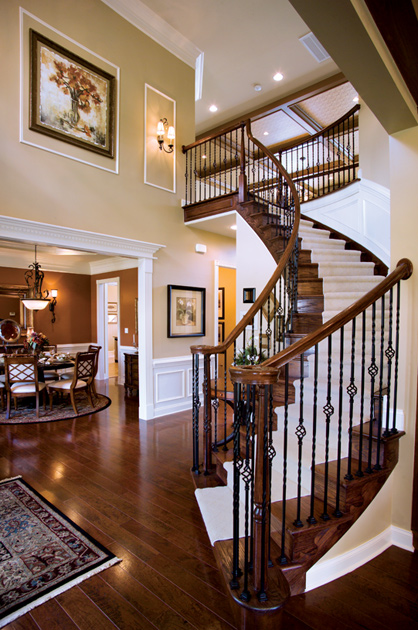 Greenville Overlook The Waterford Home Design : Foyer 2920 from www.tollbrothers.com size 418 x 630 jpeg 159kB