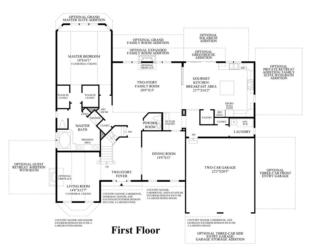 dominion valley country club executives the columbia ii home view floor plans
