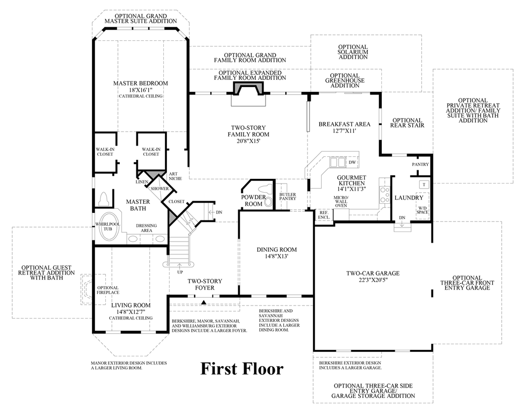 Reserve At Northampton The Hollister Home Design