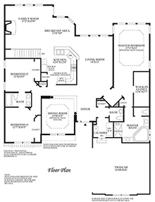 Waveland - Floor Plan