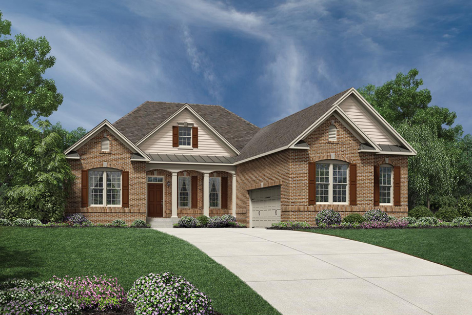 Hasentree golf villas collection the waverly home design for Classic home villa home collection