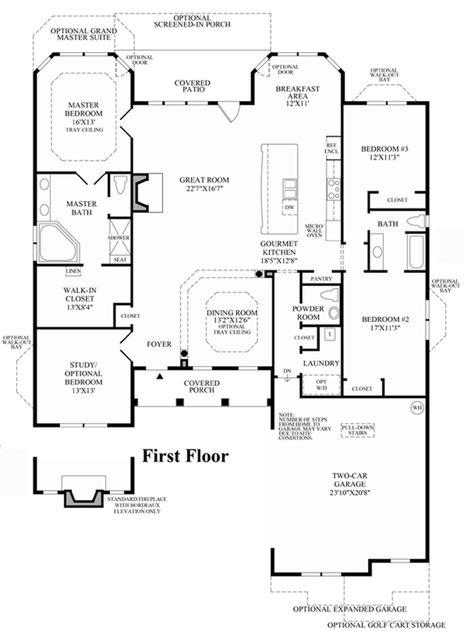 Floor plan floor plan for South carolina home plans