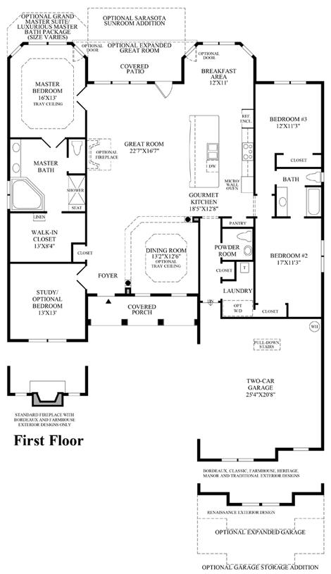 Waverly - Floor Plan